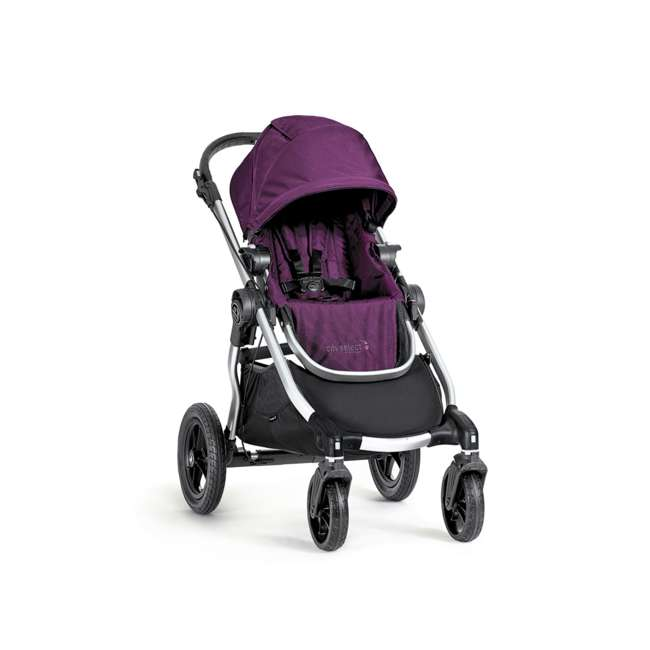 1959409 Baby Jogger City Select Folding Stroller, Amethyst