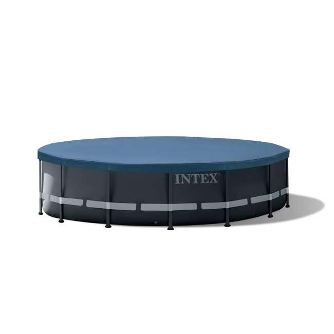 26325EH Intex 16 Foot x 48 Inch Ultra XTR Frame Swimming Pool Set  4