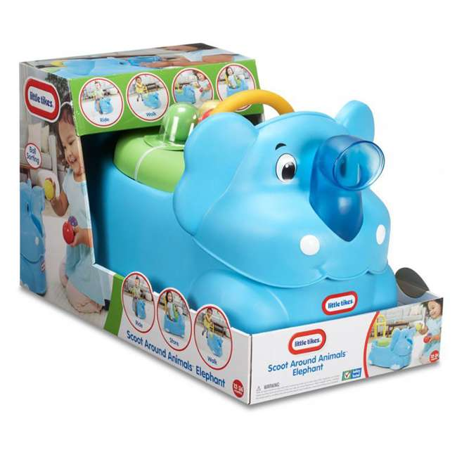 Little Tikes Ride On Toys : Little tikes scoot around animals elephant toddler ride on