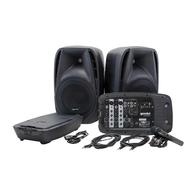 ES-210MXBLU Gemini ES-210MXBLU 10 Inch Passive Powered PA Speaker System