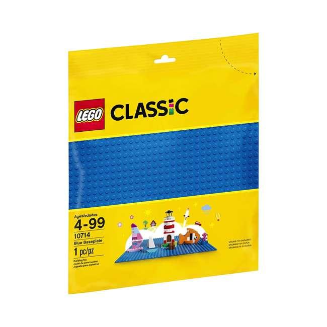 3 x 6213433 32 x 32 LEGO Baseplate, Blue (3 Pack) 3