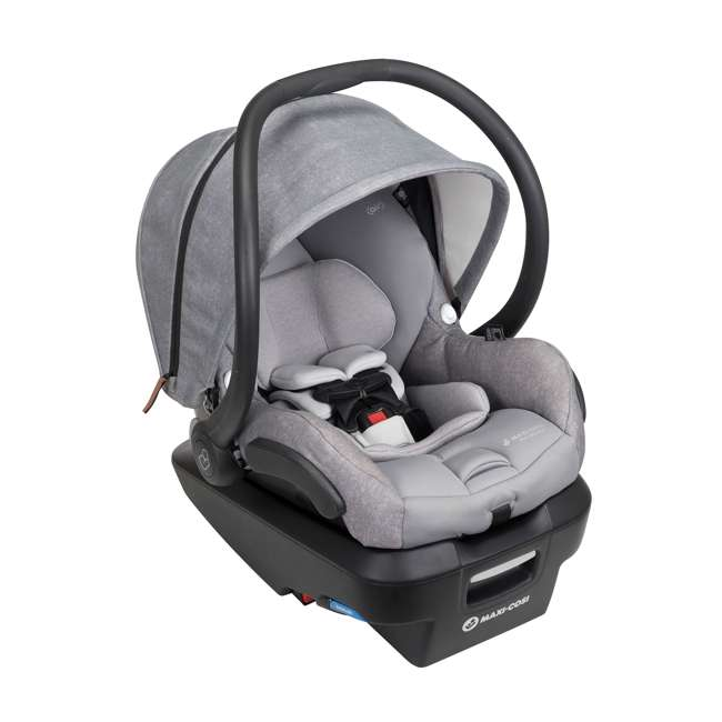 IC306ETL Maxi-Cosi Mico Max Plus Rear Facing MaxShade Canopy Infant Car Seat, Nomad Gray 1