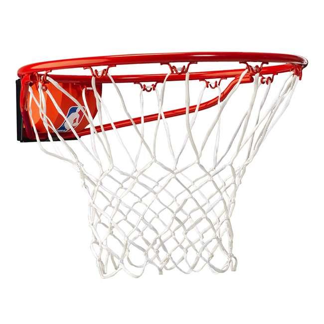 7888S Spalding Pro Slam Basketball Rim Steel Red