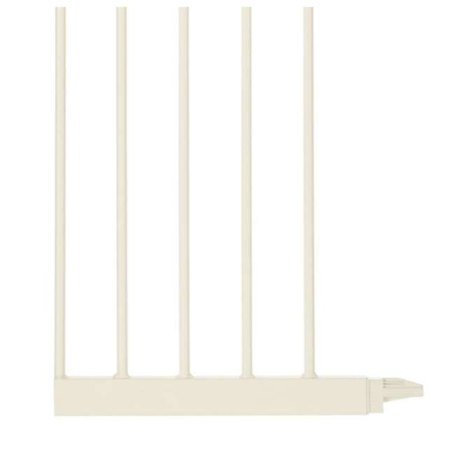 NS-4978 + NS-4974 North States Portico Arch Tall & Wide Safety Gate & 13.42 Inch Extension, Ivory 7