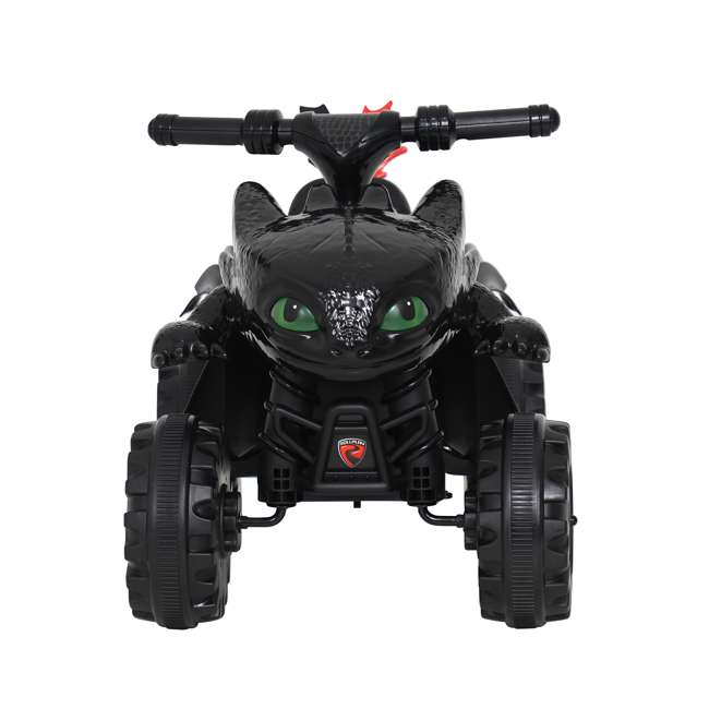 W413D Rollplay How to Train Your Dragon Battery Kid's Mini Quad 4 Wheeler Ride-On Toy 2