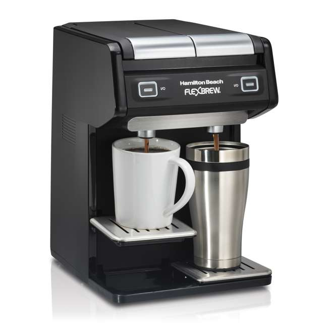 Coffee Maker On Clearance : Hamilton Beach Dual FlexBrew Single-Serve Coffee Maker : 49998