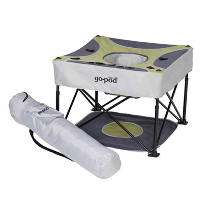 4 x P7002 KidCo GoPod Adjustable Height Travel Activity Seat, Pistachio (4 Pack) 1