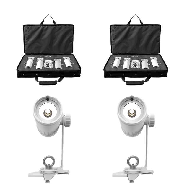 EZPIN-PACK4 Chaveut DJ EZ Pin Pack Spot Stage Lighting Unit (2 Pack)
