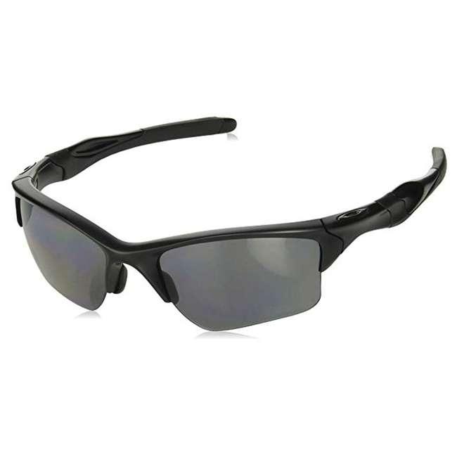 OO9154-13 Oakley Standard Half Jacket 2.0 XL Sunglasses, Matte Black