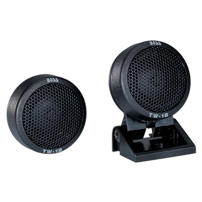 TW18-BOSS Boss TW18 .5-Inch 200W Micro Dome Tweeters Swivel/Surf/Angle Mount (Pair)
