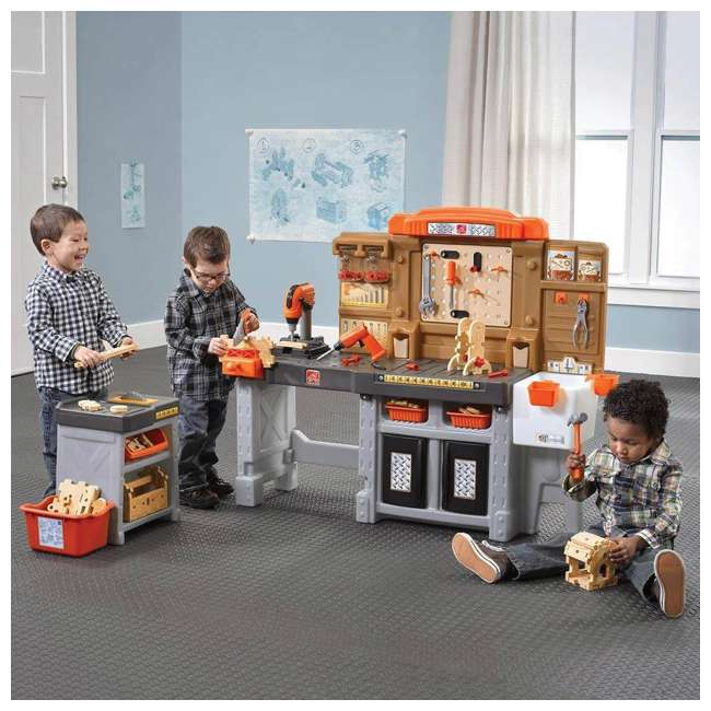 489099 Step2 Pro Play Kids Workshop and Utility Bench 5