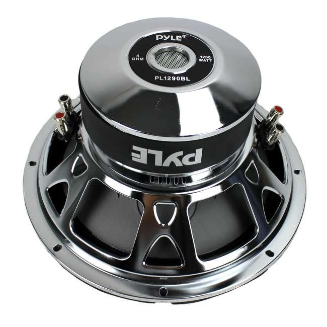 PL1290BL Pyle 12-Inch 1200-Watt Dual Voice Coil Blue Subwoofer 2