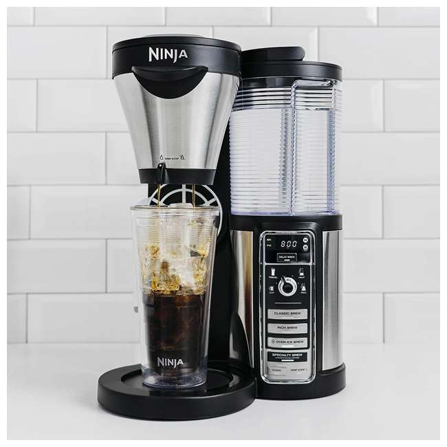 CF086_EGB-RB Ninja Automatic Coffee Bar with Stainless Steel Carafe (Certified Refurbished) 1