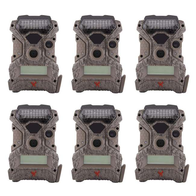 6 x WGICM0558 Wildgame Innovations Mirage No Glow 18 MP Hunting Trail Game Camera (6 Pack)