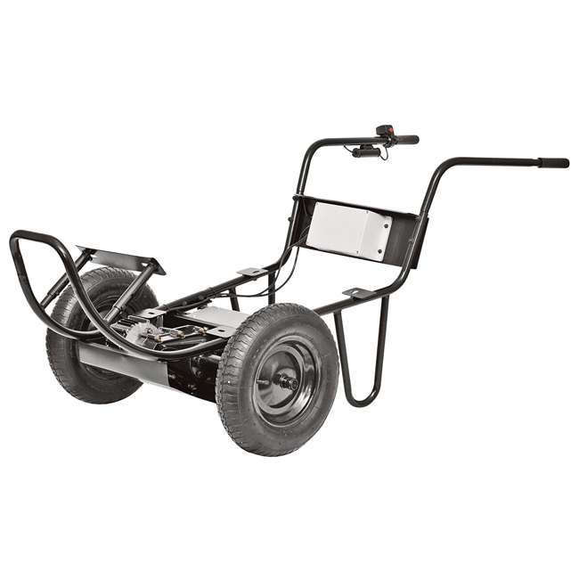 PAW-44019 Decko Powered Garden 24V Battery-Operated Wheelbarrow 1