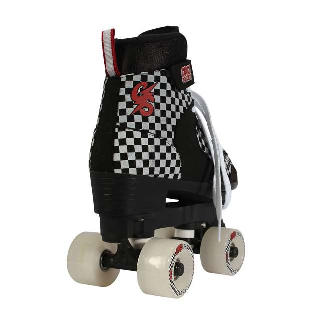 168221 Circle Society Street Checkered Kids Skates, Sizes 3 to 7 4