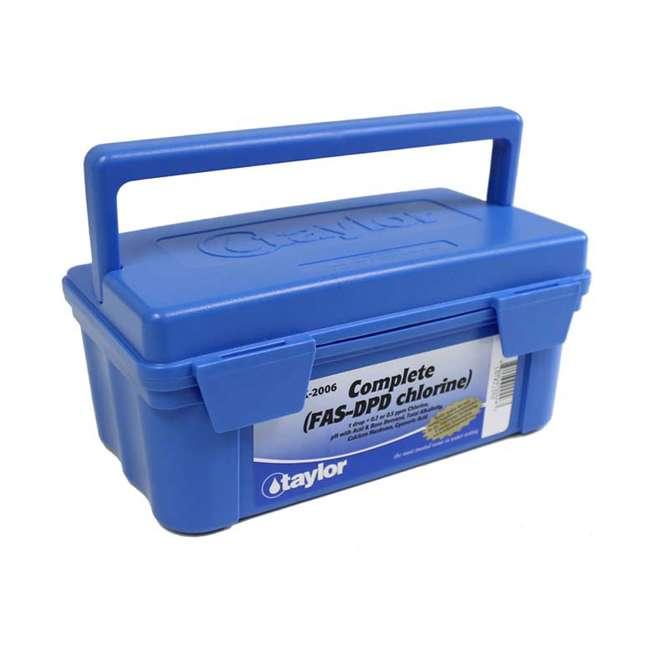 6 x K2006 Taylor K2006 2000 Swimming Pool Chlorine pH Alkaline Water Test Kit (6 Pack) 3