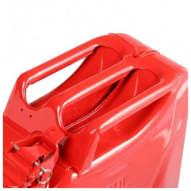 4 x 3013-WAV Wavian 2.6 Gallon Gasoline Fuel Jerry Can, Red (4 Pack) 3