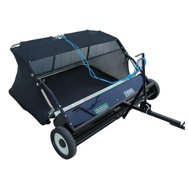 """YARD-YTF-38STQA Yard Tuff 38"""" Quick Assembly Tow Style Lawn Sweeper for Debris, Leaves, & More"""