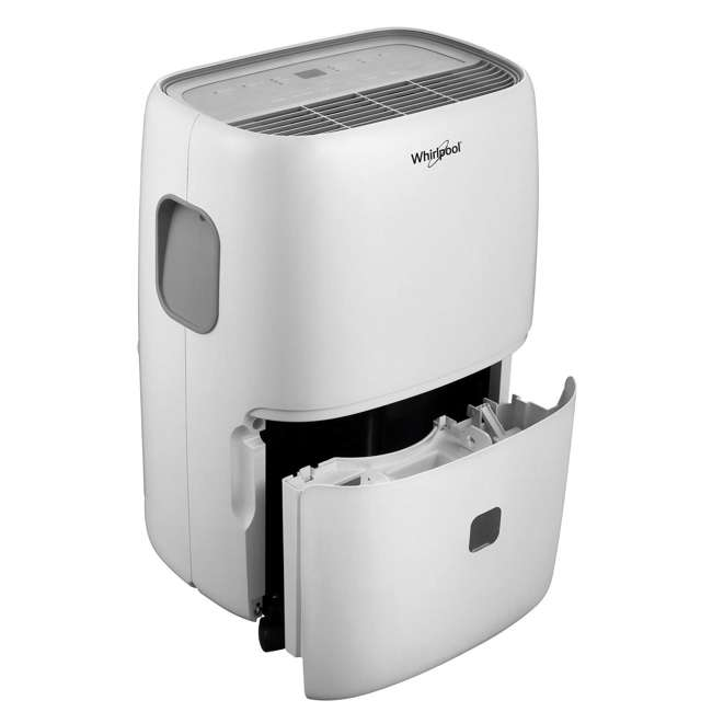 WHAD703AW-RB Whirlpool High-Efficiency 70-Pint Portable Dehumidifier (Certified Refurbished) 1