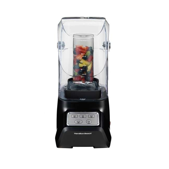 53603 Hamilton Beach 53603 Sound Shield 950 Watt 52 oz Countertop Blender Mixer, Black 4