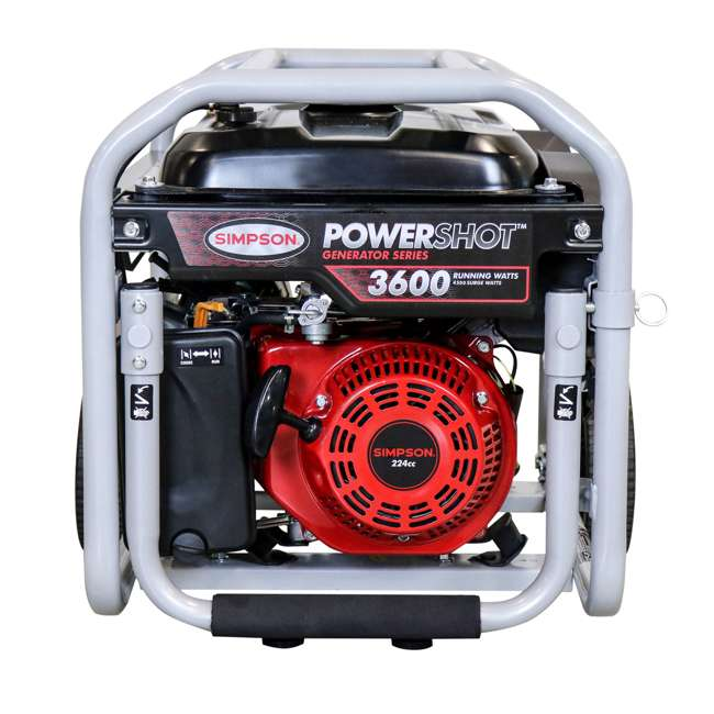 SMPSN-GN-SPG3645-70005-OB Simpson SPG3645 3,600-Watt Portable Heavy-Duty Generator (Open Box) 1