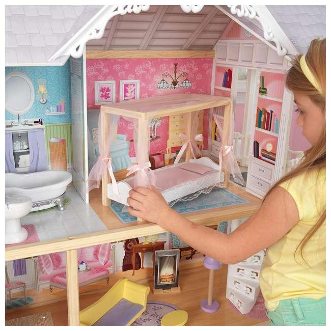 KDK-65869 Kidkraft Kaylee Wooden Dollhouse 2