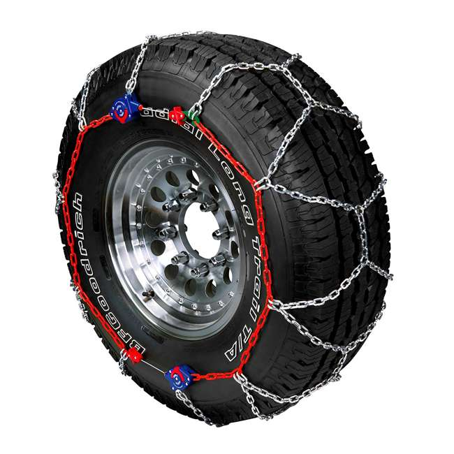 0231905 Auto-Trac 231905 Series 2300 Pickup Truck/SUV Traction Snow Tire Chains, Pair