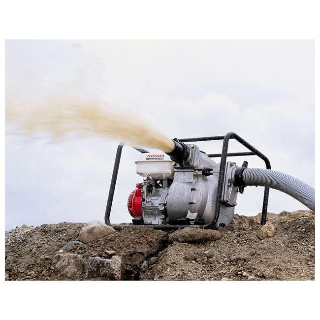 WT30XK4 Honda WT30XK4 3 Inch Cast Iron Volute GX Engine Easy Start Water Trash Pump 2