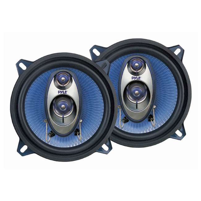 PL63BL + PL53BL Pyle PL63BL 6.5-Inch 360W 3-Way with PL53BL 5.25-Inch 200W Coaxial Speakers (Pair) 2