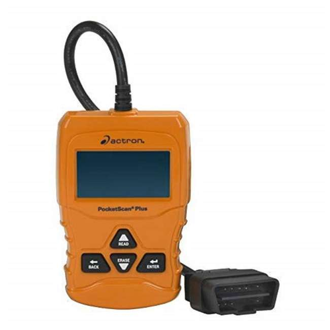 CP9660 Actron CP9660 PocketScan Plus ABS/OBDII and CAN Diagnostic Code Reader, Orange 1