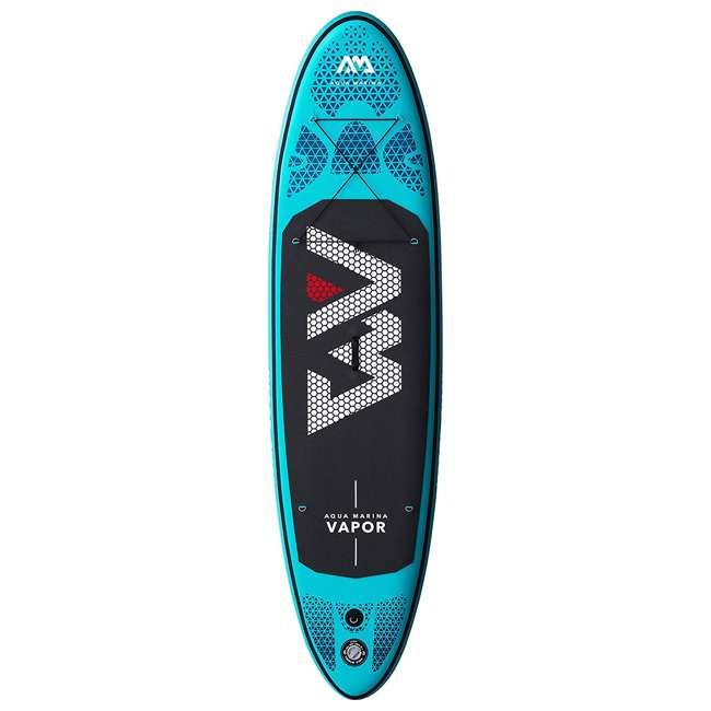 SUP-AM-PADDLEBOARD-VAPOR Aqua Marina Vapor 9.8 Foot Inflatable SUP Stand Up Paddle Board Kit with Pump 1