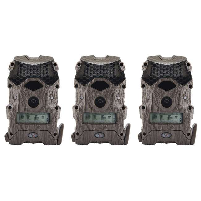 3 x WGICM0556 Wildgame Innovations M16i8-8 Mirage Series Outdoor Trail Camera, Green (3 Pack)