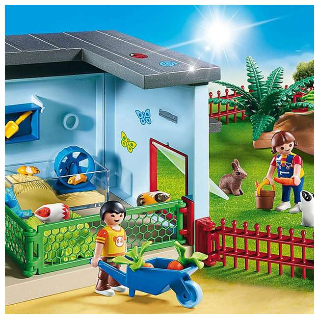 PLAY-9277 Playmobil Small Animal Boarding Building Kids Educational Toy Set & Figurines 2
