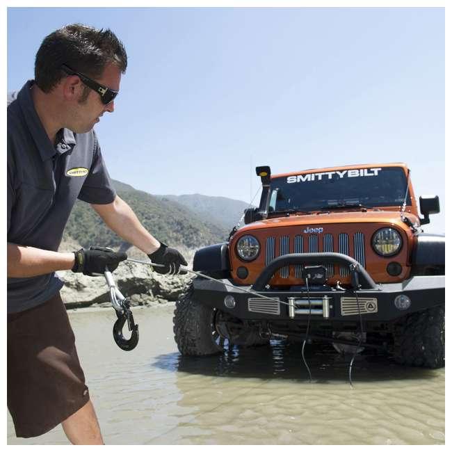 97495-SMITTYBILT Smittybilt XRC-9.5 Gen2 9500-Pound Waterproof Truck Towing Winch (2 Pack) 3
