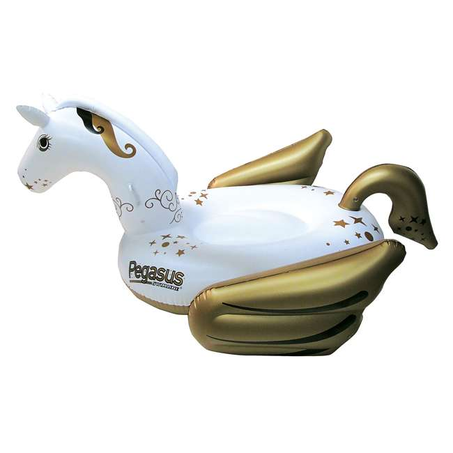 90707-U-A Swimline Giant Pegasus Inflatable Ride On Swimming Pool Float Lounger (Open Box)