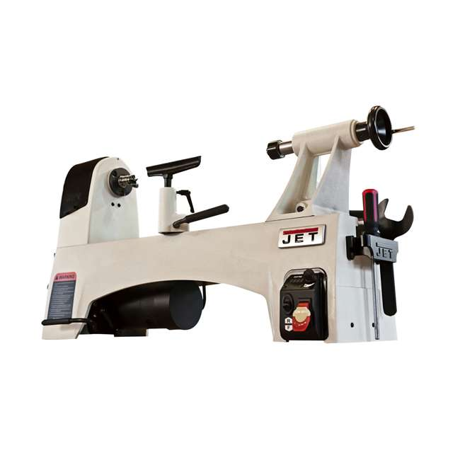 JPW-719200-U-B JET 12 x 21 Inch 3,600 RPM Variable Speed Bench Top Woodworking Lathe  |  (Used) 1