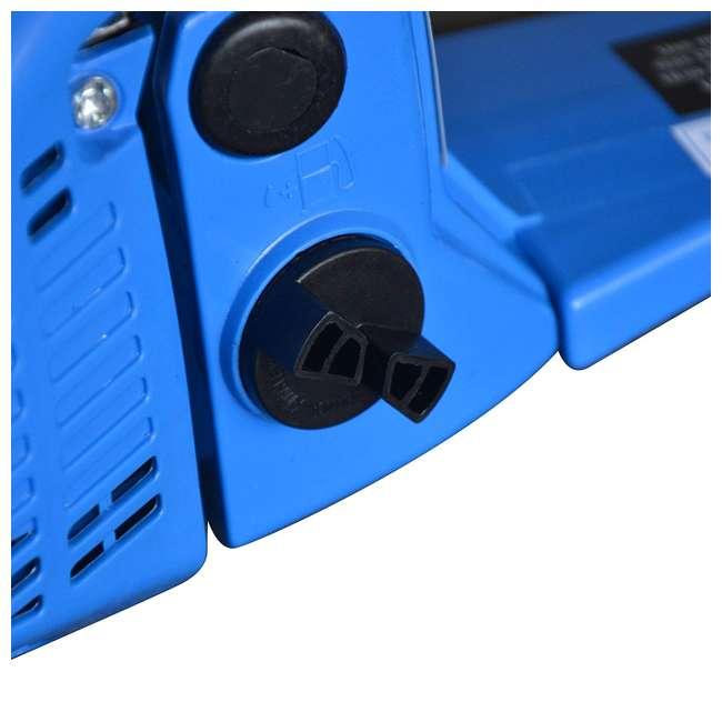 BLMAX-8901 Blue Max 8901 2-in-1 14-Inch/20-Inch Combination Chainsaw, Blue (Non-CARB Compliant) 2