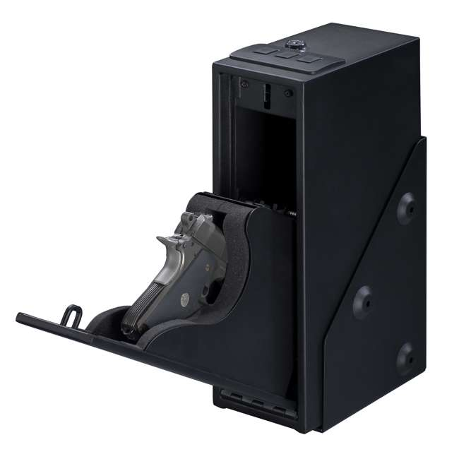 QAS-1514 Stack-On Quick Access Single Gun Safe with Electronic Lock and Mounting Hardware 3