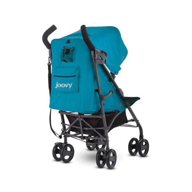 JVY-8120 Joovy Groove Ultralight Compact Canopy Umbrella Stroller, Turquoise 4