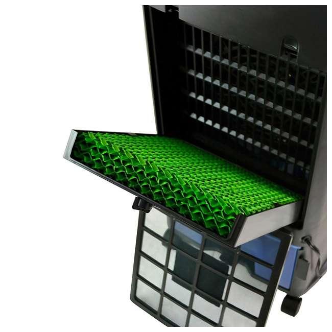 4 x EC110S-U-A Luma 250 Sq Ft 3 Speed Evaporative Cooler w/ Remote, Silver (Open Box) (4 Pack) 6
