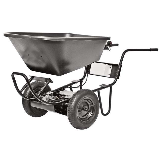 44183-U-A PAW: Power Assist Wheelbarrow Poly Tray for Electric Drive System (Open Box) 1