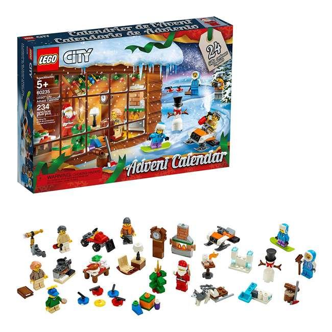 6251831 LEGO 60235 2019 Advent Calendar Block Building Kit w/ 7 Minifigures, 234 Piece