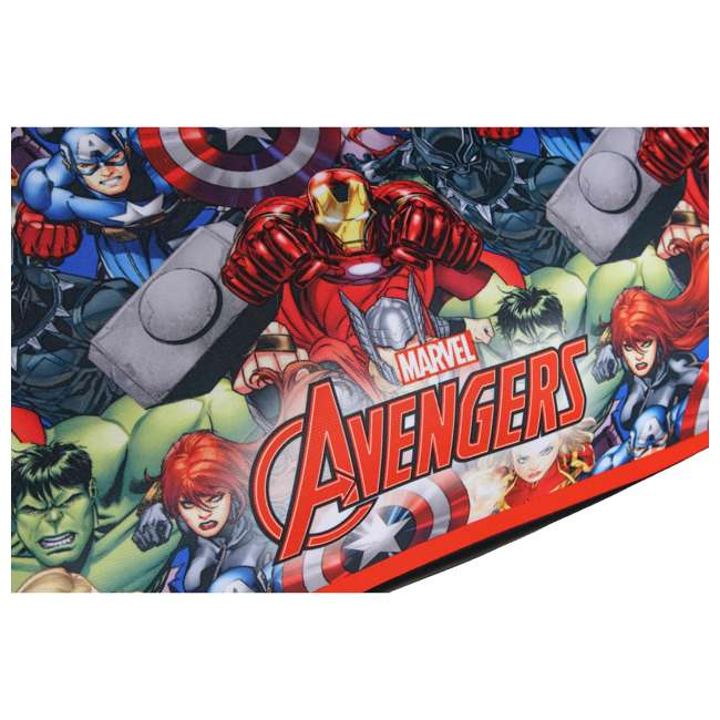 KE-4801AVG Kids Embrace Marvel Avengers Backless Booster Car Seat for Kids 4 Years and Up 5