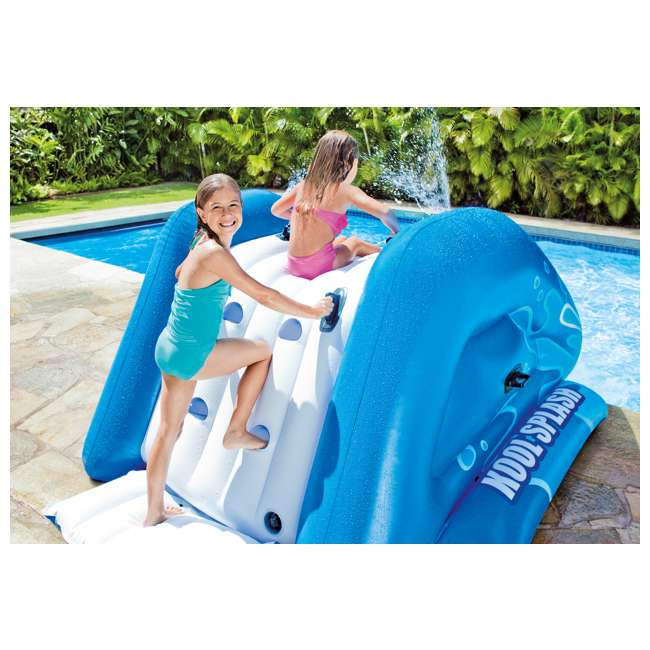 58849EP Intex Kool Splash Inflatable Play Center Swimming Pool Water Slide Accessory 6