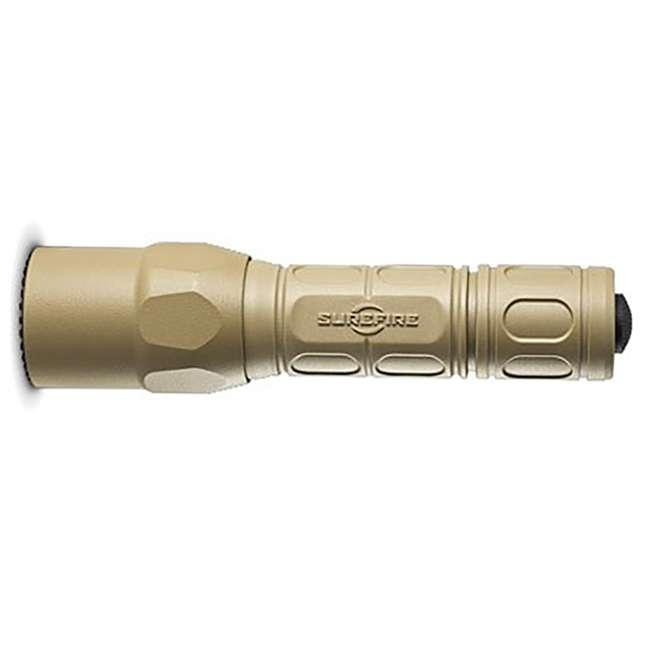 G2X-D-TN SureFire Pro Lightweight High Performance Dual Output LED Flashlight, Desert Tan 2
