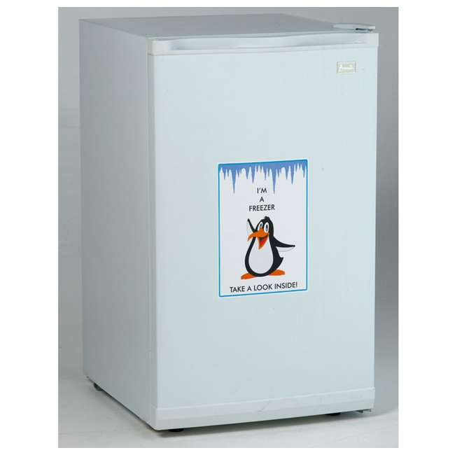 VF306 2.8 Cubic Foot Compact Vertical Upright Freezer, White