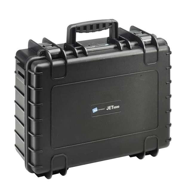 117.17/P B&W International Jumbo 500 Outdoor Tool Case with Pocket Tool Boards, Black 2