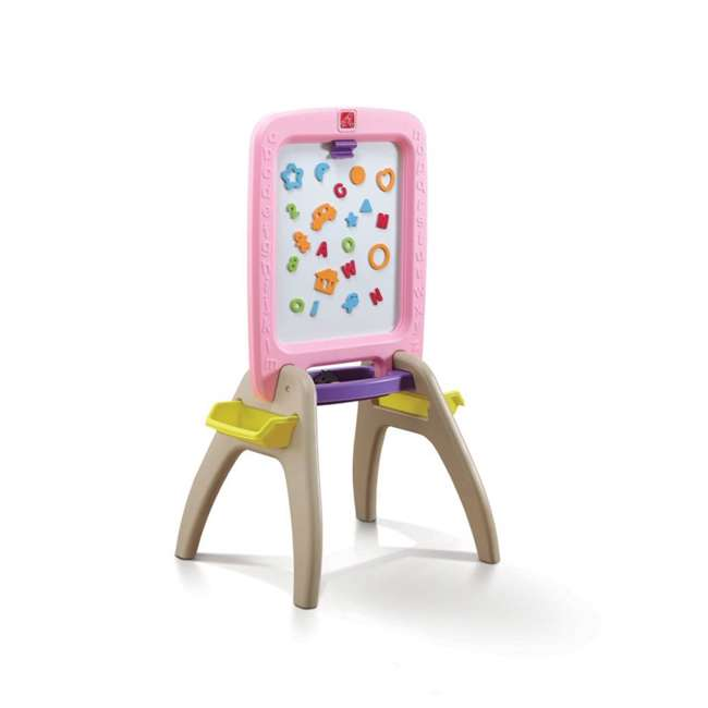 825300 Step2 All Around Art & Letter Easel for 2, Pink