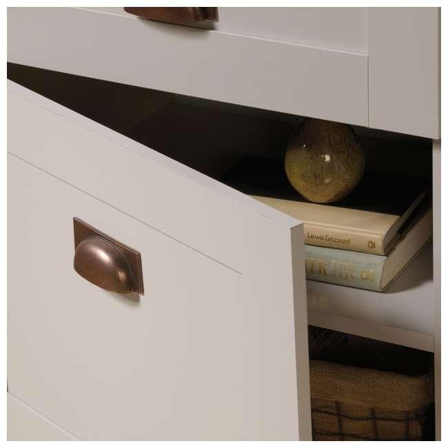 SF-419281-U-A Sauder Home Furniture Grange Tall Storage Farmhouse Shaker Cabinet (Open Box) 5